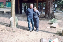 Danny and Elaine W revisiting their campgrounds